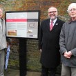 Civic Society's East Gate board unveiled