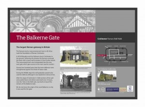 Balkerne Gate Board design