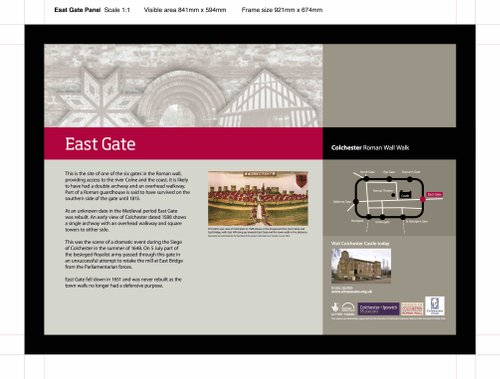 East Gate Board design