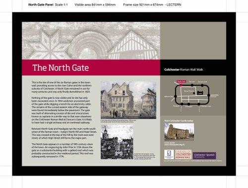 North Gate Board design