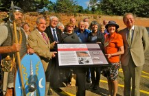 Priory Street board unveiled